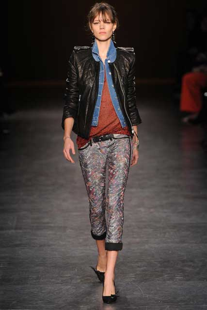 Isabel Marant Autumn Winter 2010, Paris Fashion Week
