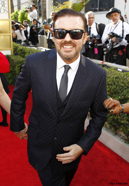 Ricky Gervais - Ricky Gervais causes controversy over