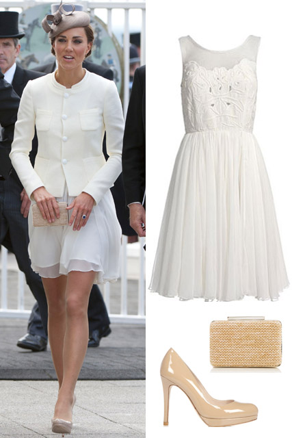 Kate Middleton wears Reiss to the races
