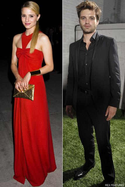 Dianna Agron & Sebastian Stan - Dianna Agron dating Sebastian Stan? - Glee - Marie Claire - Marie Claire UK