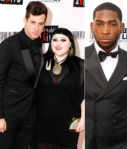 Mark Ronson, Beth Ditto and Tinie Tempah - Keep a Child Alive Ball