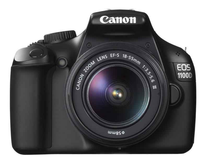 Canon EOS 1100D (Rebel T3i) - entry level DSLR