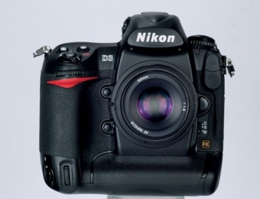 Nikon D3 front straight
