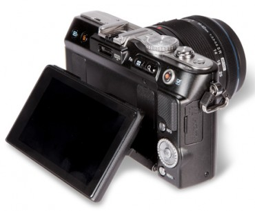 Olympus Pen EPL3 screen