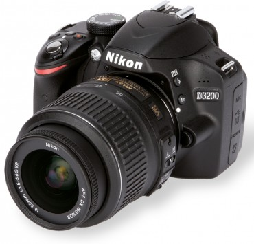 Nikon D3200 front (main)