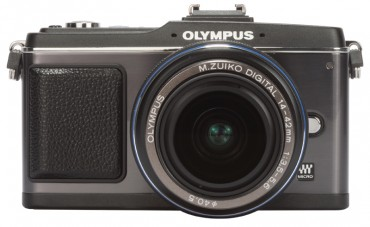 Olympus Pen E-P2 front 