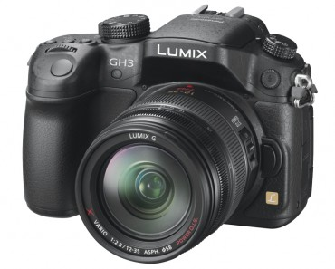 Panasonic Lumix DMC-GH3 front (main)