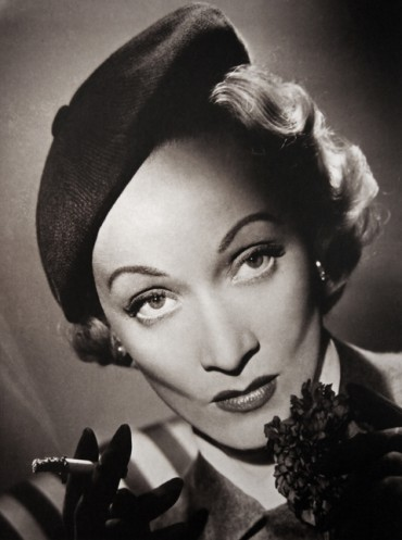 Marlene Dietrich, copyright Cornel Lucas/Courtesy Chris Beetles Fine Photographs