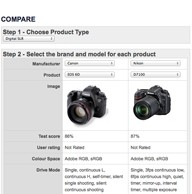 Compare cameras