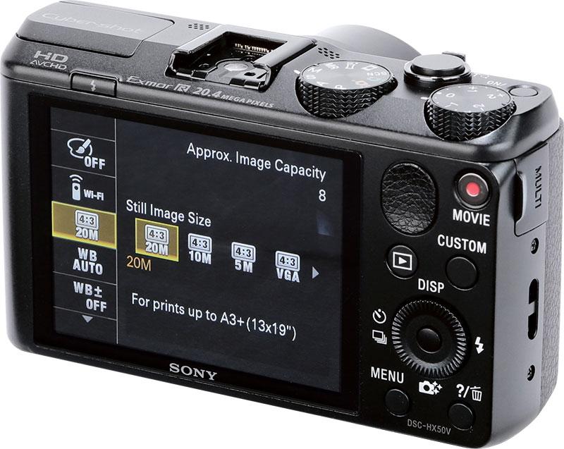 Sony Cyber Shot Dsc Hx50 Review