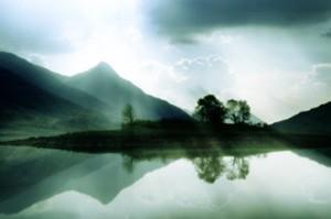 Loch in scotland