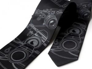 Vintage Camera Necktie