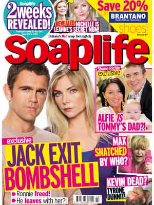 Soaplife cover May 2011