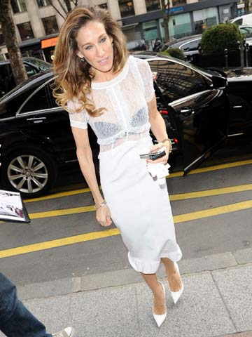 CELEBRITY WEIGHT LOSS SHOCK! Sarah Jessica Parker looks thinner than ...