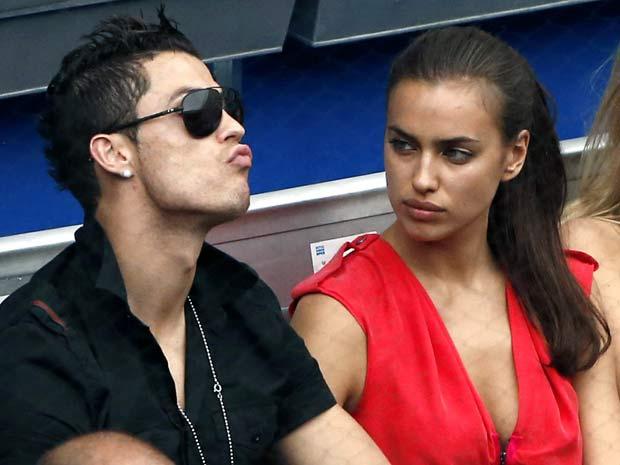 Cristiano Ronaldo and girlfriend Irina Shayk share a ...