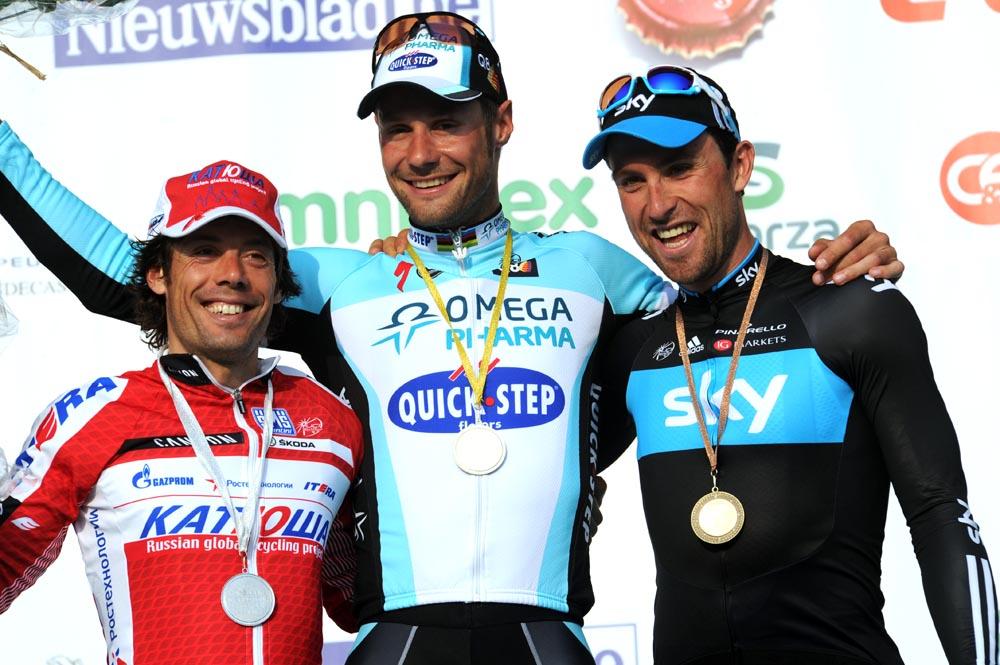 Boonen wins E3 Harelbeke