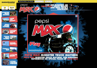 Mousebreaker partners with 20:20 to support Pepsi Max in cross