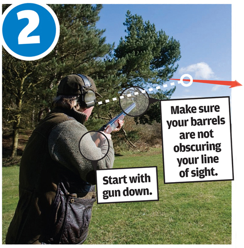 Clay pigeon shooting: How to shoot a crosser
