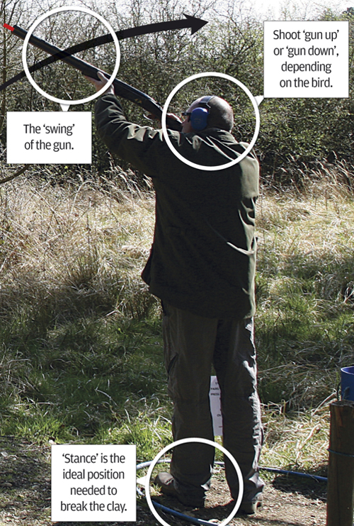 clayshooting tips for beginners