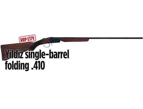 Yildiz single-barrel folding .410 shotgun