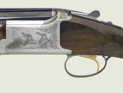 Browning B525 scrollwork